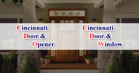 & Cincinnati Door u0026 Opener Company-Gararge DoorsRepairServiceOpeners